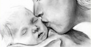 Dr Beebe mother infant drawing